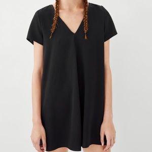 Zara V-neck dress with zipper detail - SZ XL